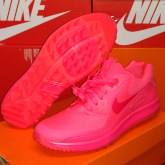 101b5c7e45 Nike Shoes | Air Zoom 90 It Golf Mens 85 Solar Red | Poshmark